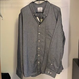 """Thundering Gray"" Goodfellow and Co. Button Down"